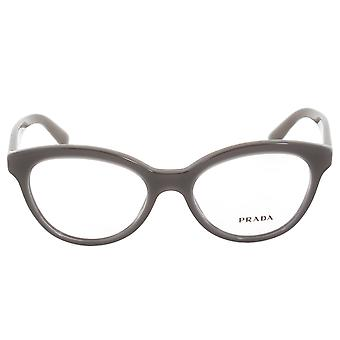 Prada PR11RV  UAM1O1 Cat Eye | Opal Brown| Eyeglass Frames