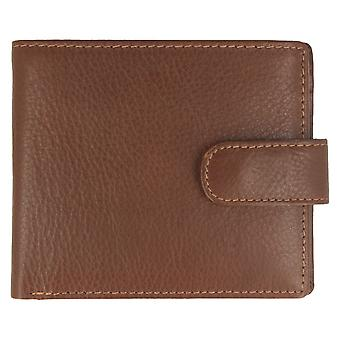 Mens Charles Smith Bifold Wallet 611000 - Tan Leather - One Size