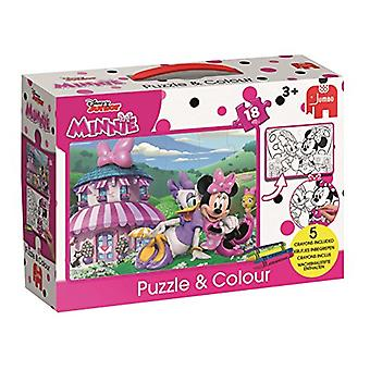 Disney Minnie Happy Helpers Puzzle & Colour