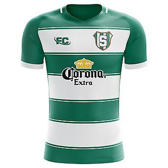 d41c3373c 2018-2019 Santos Laguna Fans Culture Home Concept Shirt