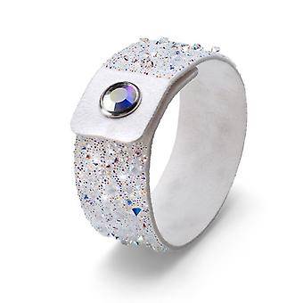 Oliver Weber Bracelet Disco Large Alcantara White