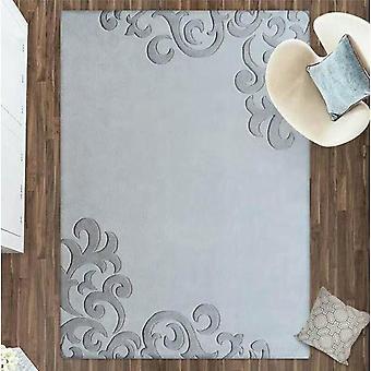 100% шерсть ковров серый 3d ковры в современном стиле.