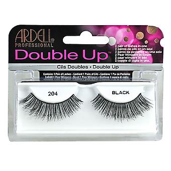 Ardell Double Up False Eyelashes Black 204