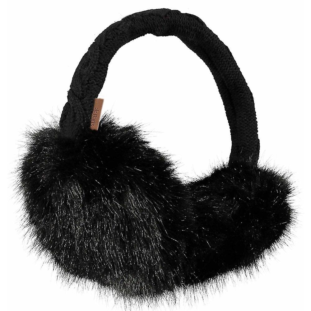 Barts pels øreklokker - svart