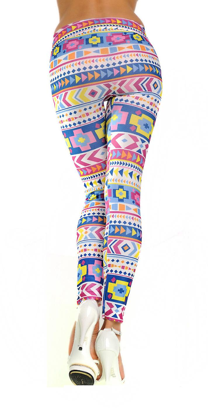 Waooh - Fashion - Geometric Pattern Legging