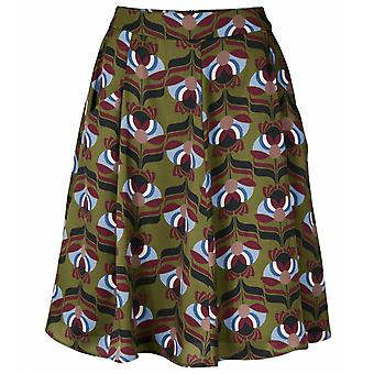 B.C.. best connections of casual boho mini skirt regular fit Green