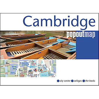 Cambridge Popout Map by PopOut Maps - 9781910218198 Book