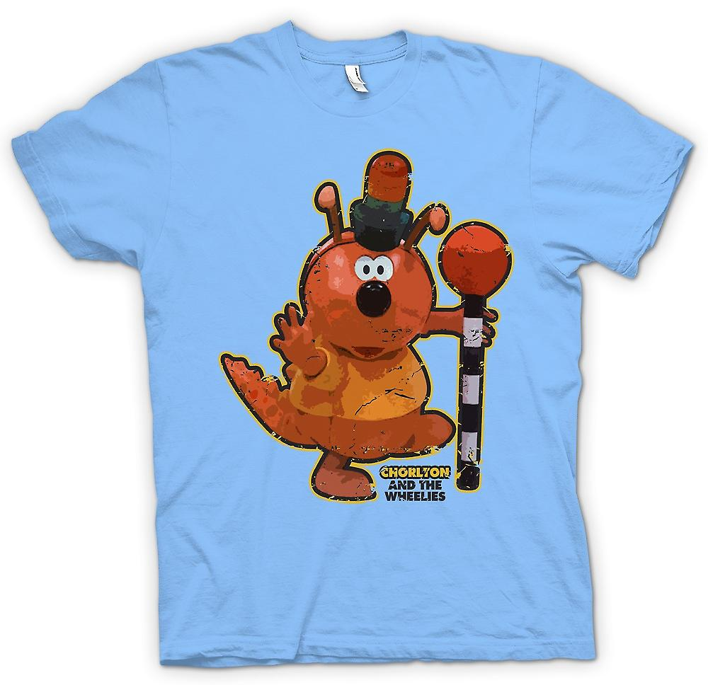 Mens T-shirt - Chorlton - Chorlton And The Wheelies - Retro