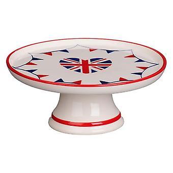 Ich liebe UK Kuchen Stand Keramik 22cm