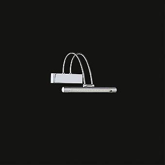 Ideel Lux - bue Chrome små LED billede lys IDL005386