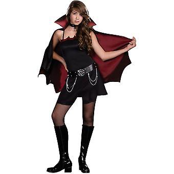 Punk vampyr tonåring kostym