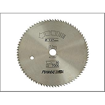 CIRCULAR SAW BLADE CROSS CUT 127 X 12.7 X 80T