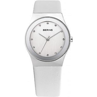 Bering ladies slim watch clock classic - 12927-804 leather