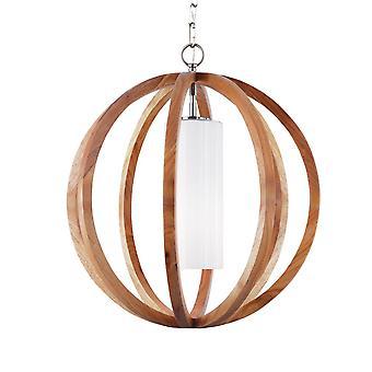 Allier ljus trä små hängande - Elstead belysning Fe / Allier / P / S LW