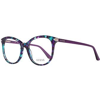 Guess glasses ladies multi coloured