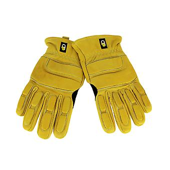 Premium Grain Cowhide Leather XHD Impact Resistant Riggers Gloves