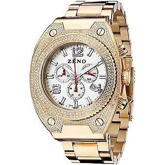 Zeno-watch montre bling 1 chronographe 91026-5030Q-PGR-s2M