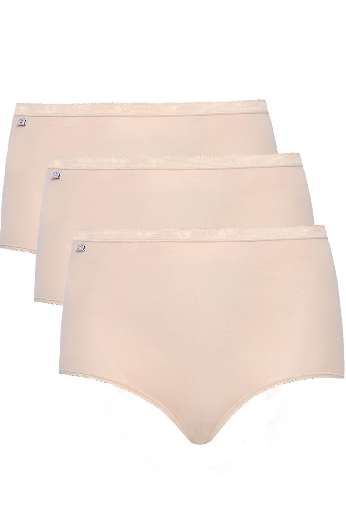 SLOGGI PACK de 3 slips Maxi base nues