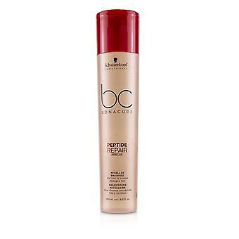 Schwarzkopf BC Bonacure peptide Repair Rescue micellar shampoo (para cabelos finos a normal danificado)-250ml/8.5 oz