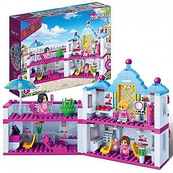 Conjunto de BanBao enclavamiento bloques de construcción de salón de belleza (382 piezas)