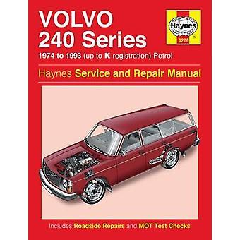 Volvo 240 Series Service and Repair Manual - 9780857337429 Book