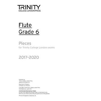 Flute Exam Pieces Grade 6 2017 2020 (Part Only) - 9780857365101 Book