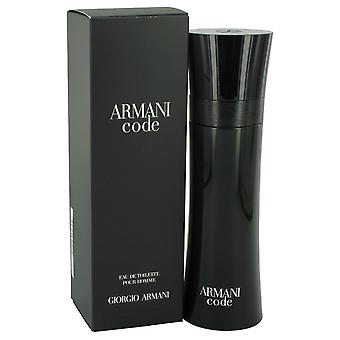 Armani Code by Giorgio Armani Eau De Toilette Spray 4.2 oz / 125 ml (Men)