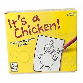 C'est un poulet !  Le jeu de dessin pour les enfants.