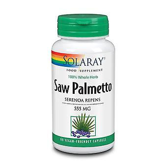Solaray Saw Palmetto 550mg Capsules 60 (85412)
