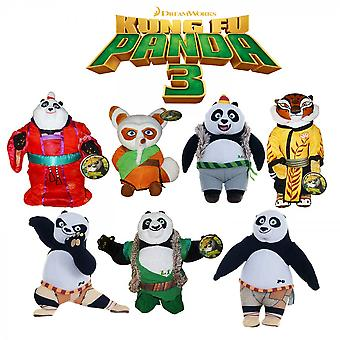 Kung Fu Panda Plush Medium Size 25cm  (One Supplied)