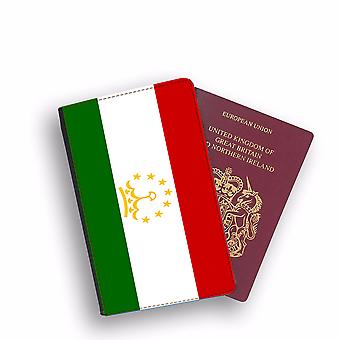 TAJIKISTAN Flag Passport Holder Style Case Cover Protective Wallet Flags design