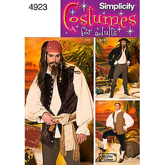 Simplicity Mens Costume L,Xl U04923bb