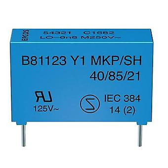 Y1 suppression capacitor Radial lead 2.2 nF 250 Vac