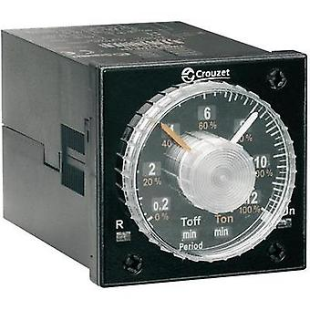 Crouzet 88886516 Time Delay Relay, Timer, IP50 (front)