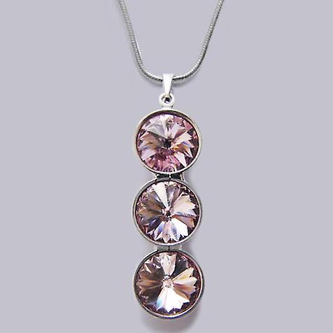 Halskette mit Kristallanhänger PMB-4.3