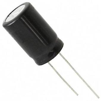 Electrolytic capacitor Radial lead 7.5 mm 68 µF 1