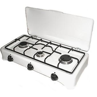 Comgas 3 burners gas stove. (Garden , Camping , Kitchen)