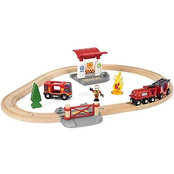 BRIO Rescue Fire Fighter ställa 33815