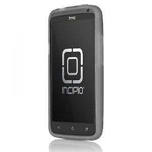 HT-268 Incipio NGP case cover for HTC one X - translucent mercury grey
