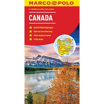 Canada Marco Polo kart av Marco Polo