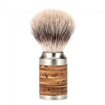 Muhle Rocca Synthetic Fibre® Birch Bark Shaving Brush