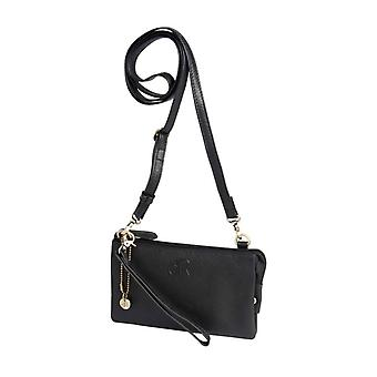 Dr Amsterdam shoulder bag/Clutch Mint Black