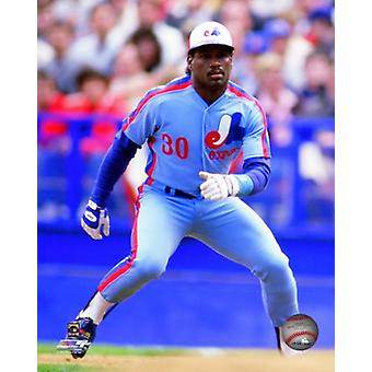 Tim Raines Action Photo Print