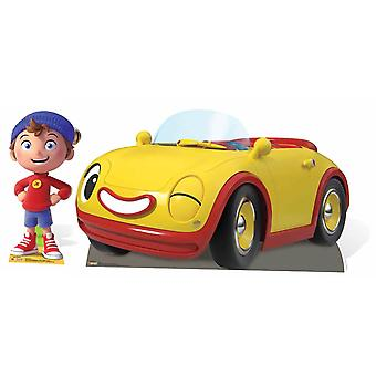 Noddy and Revs from The Toyland Detective Cardboard Cutout Twin Pack