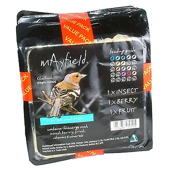 Mayfield oksetalg bakke tredobbelt pakke (pakke med 4)