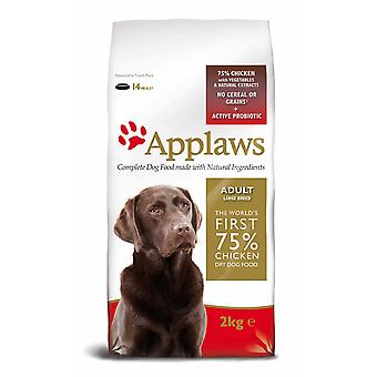 Applaws hund tør Adult store race kylling 2kg