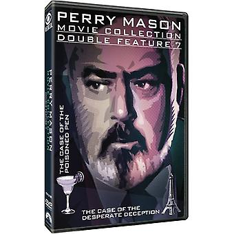 Perry Mason Double Feature: Case of the Poisoned [DVD] USA import