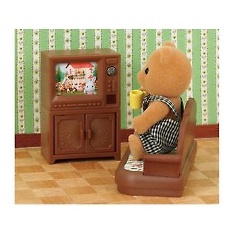 Sylvanian Families Television (Toys , Dolls And Accesories , Miniature Toys , Stages)