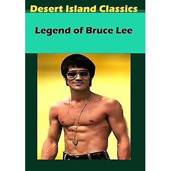 Legenden om Bruce Lee [DVD] USA importerer