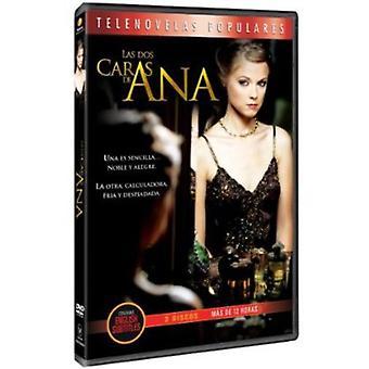 To sider af Ana [DVD] USA importerer